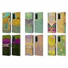 OFFICIAL DUIRWAIGH INSECTS LEATHER BOOK CASE FOR HUAWEI PHONES