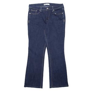 LEVI'S 515 Blue Denim Slim Bootcut Jeans Womens W31 L29
