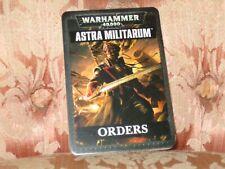ORDERs - Datacards: Astra Militarum English Games Workshop Warhammer 40000 New