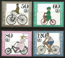 Germany (Berlin) 1985 MNH Transport Cycles Buessing Jaray Opel Racing Bicycle
