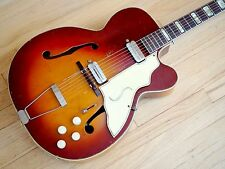1950s Silvertone Aristocrat 1365 Vintage Archtop Electric Guitar Kay UpBeat