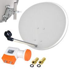 TechniSat Digitale SAT Anlage 60cm Satelliten Spiegel TWIN LNB Schüssel HDTV HD