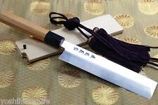 Yoshihiro VG-10 Mizu Honyaki Stainless Edo Usuba  Japanese vegetable knife Yew