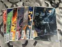 Justice League #1-7 Totality DC Comics 2018 1st Print New Jim Lee Covers