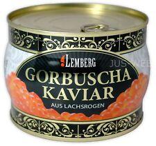 500 g (1 Kg /47,80€) BUCKEL LACHSKAVIAR KAVIAR WILDFANG SALMON CAVIAR GORBUSCHA