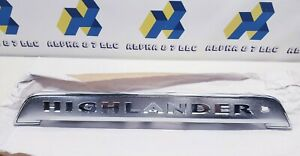 Toyota Liftgate Finish Panel for Toyota Highlander 7680148909