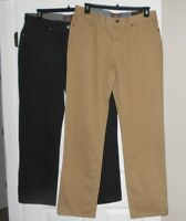 Weatherproof twill jeans classic straight leg 4 colors  asst sizes NWT