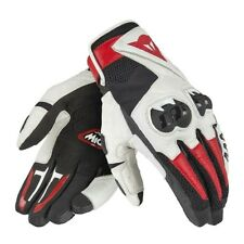 GUANTI DAINESE MIG C2 GLOVES BLACK WHITE LAVA-RED TAGLIA XL