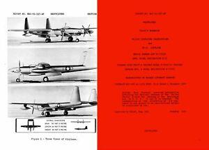 Hughes XF-11 Aircraft Pilots Manual 1940's Archive EX RARE DVD recon prototype
