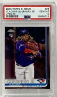 2019 Topps Chrome Update #21 Vladimir Guerrero JR PSA Gem MT 10 Blue Jays RC