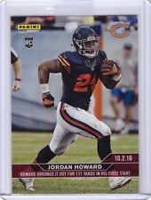 2016 Panini Instant NFL Football #73 Jordan Howard Rookie Card - Only 142 made!