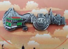 New HARD ROCK Cafe SAN FRANCISCO 3D Skyline Guitar Series Pin