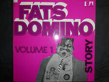 """FATS DOMINO   LP  UNITED ARTISTS  """" STORY - VOLUME 1 """"  [France]"""