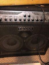 Fender Bassman 250/210 Electric Bass Guitar Amplifier 250 Watt Solid State Amp