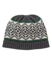 GYMBOREE COZY CABIN GRAY FAIR ISLE SWEATER BEANIE HAT 3 6 12 NWT