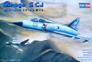 Hobbyboss 1:48 Mirage III CJ Aircraft Model Kit