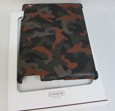 Coach iPad Hard Case Camo Cover
