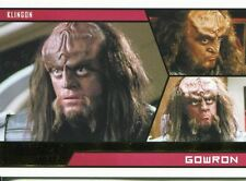 Star Trek Aliens Gold Parallel Base Card # 98 Gowron