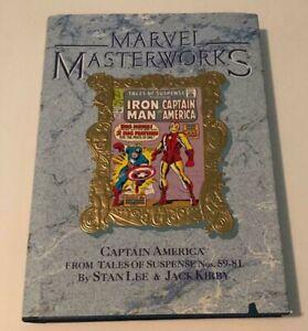 MARVEL MASTERWORKS  VOLUME 14 GOLD HARDCOVER CAPTAIN AMERICA 1990 FIRST PRINT