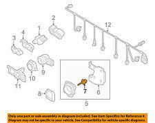 VW VOLKSWAGEN OEM Touareg Front Bumper-Distance Sensor Hardware Kit 4H0998561