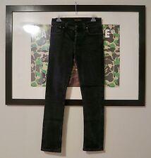 Nudie Jeans Grim Tim Black Ring Size 29/29 $165