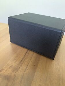 Dex Protection Deck Box Black for Pokémon Magic TCG Card Games
