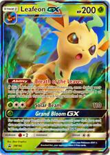 Pokemon Tcg Sm146 Leafeon Gx Foil Promo Black Star Rare Card