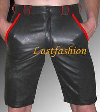 Kurze Herren-Shorts & -Bermudas aus Leder in Plusgröße