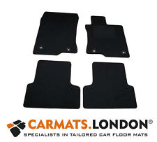 Honda Accord 2008 - 2017 Tailored Car Floor Mats Complete Fitted Set in Black