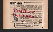 FRANKFURT/O., Werbung 1911, Märk. Maschinenbau-Anstalt Teutonia