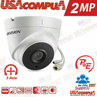 Hikvision 2MP POE IP Camera  DS-2CD1321-I 1080P  IR30m IP67 2.8mm lens 3 axis