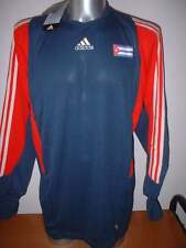 Cuba gardien de but adulte XL Adidas L / S shirt jersey Maglia Football nouveau trikot Bnwt