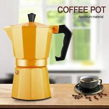 Moka Express Percolator 6-Cup Stovetop Espresso Maker Pot Coffee Latte Maker