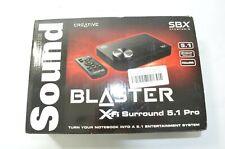 NEW SEALED Creative Sound Blaster X-Fi Surround 5.1 Pro USB Sound Card