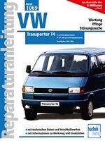 VW Transporter T4 1990-1995 Reparaturanleitung Reparatur-Handbuch Reparaturbuch
