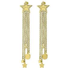 Orecchini Donna Liu Jo Lj1214 Acciaio Colore Oro Giallo Stella con Frange