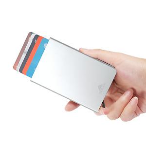 Solex Aluminium RFID Blocking Credit Card Holder Ejector Popup Wallet