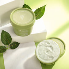 Green Tea Cooling Cleansing Mud Mask【High Quality】Facial Skin Care