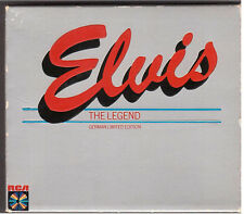 Elvis The Legend Rare RCA Germany Silber Silver 3 CD 3CD Box Set 1983 Not LP