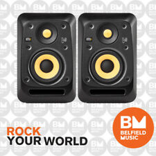 2 x KRK V4 S4 Studio Monitor V-Series Active Powered Speaker 4'' 4 Inch Pair