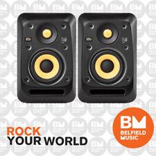 2 x KRK V4 S4 Studio Monitor V-Series Active Powered Speaker 4'' 4 Inch Pair