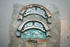 nos yamaha motorcycle riva 50 ca50 1983-86 brake shoes