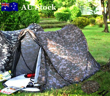 Mini Camouflage Swag Hiking Camping Tent Pop Up 190x90x85cm 1-2 Person OTENT0101