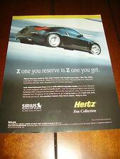 2007 NISSAN 350Z HERTZ  RENT- A - RACER   ***ORIGINAL AD***