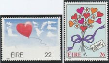 Ireland (Eire) Stamps 1985 Greetings Stampe SG 603-604 (MLH)