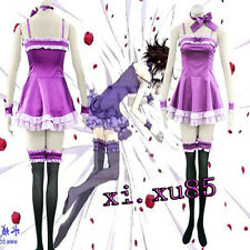 HOT Anime Vampire Knight Yuki Cross Cosplay Costume Pretty Dress Free Shipping