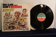 Dick Clark Presents Radio's Uncensored Bloopers, Atlantic 80188-1, 1984, Comedy