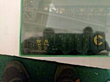 Ho scale Bowser Englishe's Model Western Maryland Chessie 70 Ton Quad Hopper