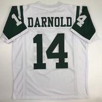 New SAM DARNOLD New York White Custom Stitched Football Jersey Size Men's XL