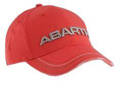 NUOVO DI ZECCA UFFICIALE ORIGINALE ABARTH Merchandise ROSSO COTONE cappellino baseball 59106057